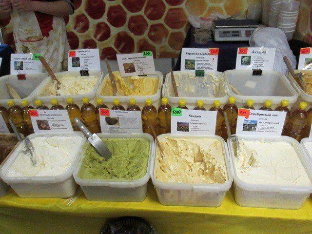 Мёд зеленого цвета из чего
